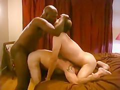 Interracial threesome...