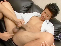 Hottest guys in amazing fingering masturbation jav movie...