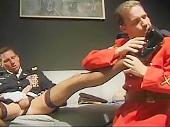 Crossdressing boot fetish...