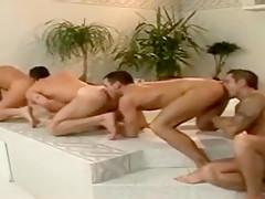 4 bareback each other...