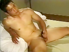 Fabulous male in hottest handjob asian scene...