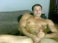 Exotic male in amazing handjob hunks video...
