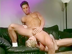 Faggot slave mike karacson gives blowjob oral sex...