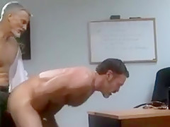 Old office workers sex...