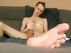 Hung boy toy solo...