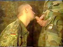 Young soldiers oral help buddies porn boy...