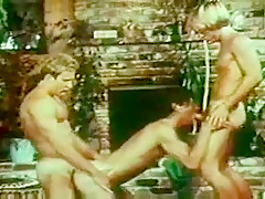 Threesome from 70s...