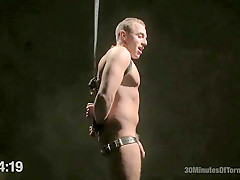 Jacob durham gets oiled down beaten and fucked...