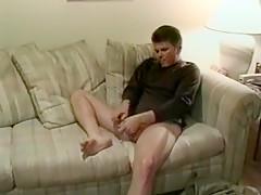 Butt spanking...