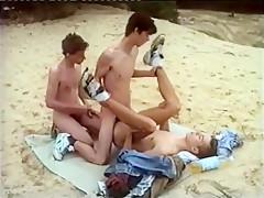 Summer gay boys beach...