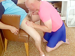 Michael karacson gives oral blowjob...