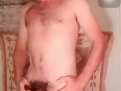 Dances and cums on skype...