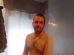 Caught masturbating in shower...