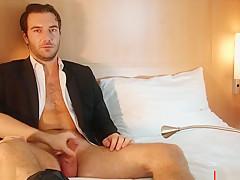 Handsome str8 dudes dick massage hetero male seduced...