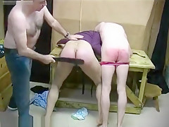 Boys spanked from daddies...