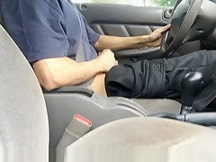 First outdoor vid public while driving almost caught...