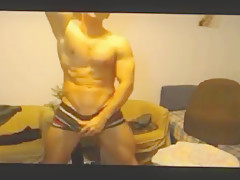 Naughty muscle tease and jerk add by jamesxxx7x...