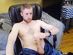 Dick busts nut and moans freakyknight...