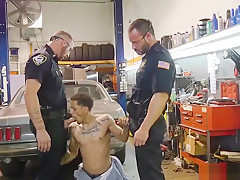 Muscle cop bisexual get pulverized by the police...
