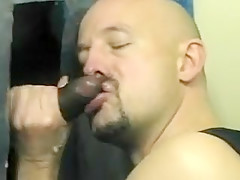 Gloryhole suck cock...