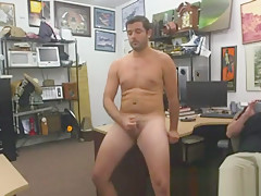 Gay guy goes gay for cash he needs...