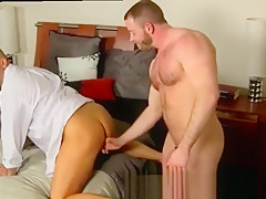 Anal bead male after a day office brian...