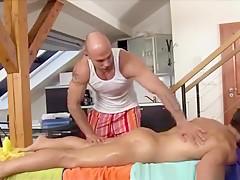 Guys enjoy massage...