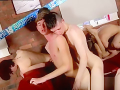Anal an lovemaking of sucking jacking and stiff...