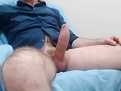 Man with huge cock in cam...