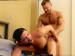 Black bodybuilders video and male...