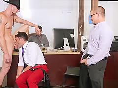 Male businessmen sex lances big...