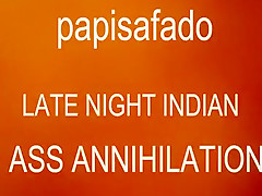 Papisafado hard bonks indian anus after a hardly...