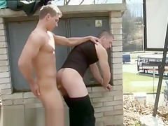 Man bares butt movies dudes have anal sex...