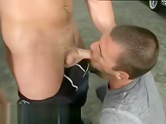 Clips hot gay public sex...
