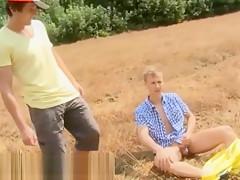 Men sucking porn free and big muscular kissing...