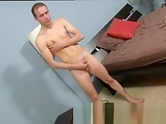 Gay porn galleries as he massages his skin...