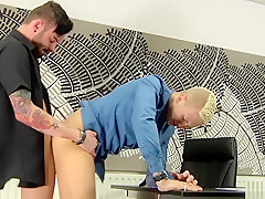 Deacon hunter gets drilled by adam watson...