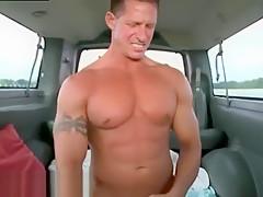 Hayden canada straight men getting...