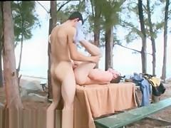 Joseph outdoors hot movies of public...