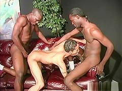 Twink latino guy by hung black men...