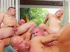 Bisexuals and group porn...