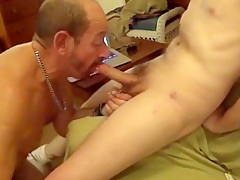 Doxy dad gives his sexy buddy an astounding...
