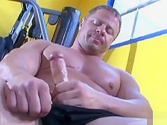 Athlete adam hart masturbating...