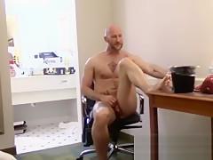 Boys anal stretch...