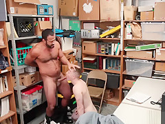 Cops shower gay porn muscle hot police man...