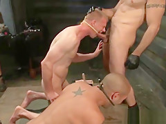 Threesome video 2 by boundpride part1...