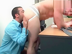 Gets his hard cock sucked part3...