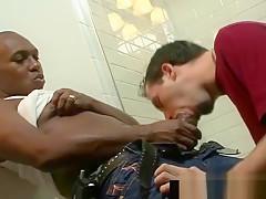 Thug getting sucked bathroom gaypridevault part3...