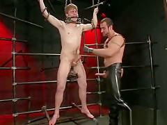 Noah gets strung up gay part5...
