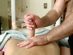 Loves toying ass...